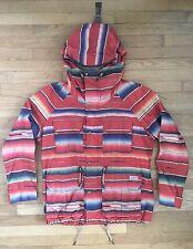 Ralph Lauren Polo, RRL Native American Serape Stripe Print Jacket, Size L RARE!