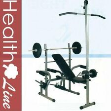 Pro Power Gym Fitness Weight Bench adjustable with Butterfly and Leg Developer