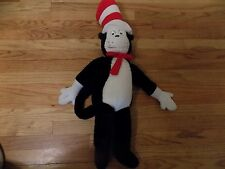 """Vintage 1995 Dr Suess Cat in the Hat Plush Stuffed Animal 30"""""""