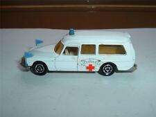 MAJORETTE CITROEN DS21 AMBULANCE ORIGINAL IN USED CONDITION SEE THE PHOTOS