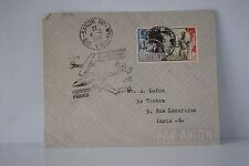 LETTRE COLONIE INDOCHINE PAR AVION AIR FRANCE 04/03/1950 SAIGON VIET NAM TB