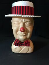 Vintage Poynter Products Extremely Rare WC Fields  Head Mouth Opens Gag Toy