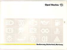 deutsche Betriebsanleitung OPEL  VECTRA -  Handbuch Ausgabe 1996