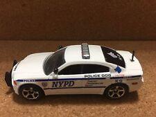 MATCHBOX POLICE K-9 KITBASH DODGE CHARGER N.Y.P.D. CUSTOM  UNIT