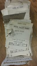 Losing Sports Betting Tickets $60240 Wagered 2007 Las Vegas Casinos High Roller