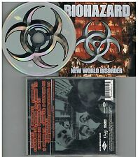 Biohazard ‎– New World Disorder CD Album 1999