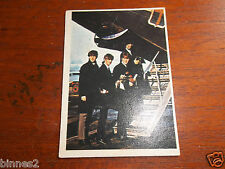 THE BEATLES DIARY TOPPS T.C.G. GUM TRADING CARD COLOUR / COLOR 1965 CARD NO.10A