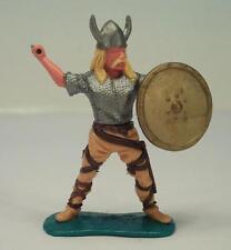 Timpo Toys Wikinger Viking stehend mit Schwert und goldenem Schild