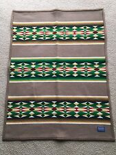 Pendleton Beaver State Blanket  or Throw Very Good condition 42 in x 33 in