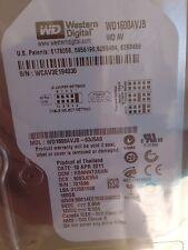 """*New* Western Digital AV (WD1600AVJB), 160GB, 7200RPM, 3.5"""" Internal Hard Drive"""