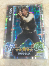 STAR WARS Force Awakens - Force Attax Trading Card #195 Han Solo