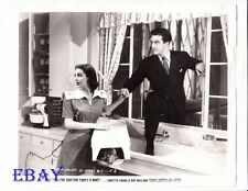 Ray Milland Loretta Young VINTAGE Photo The Doctor Takes A Wife