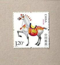 China 2014-1 Lunar New Year Horse Stamp from Booklets 馬 - Animal