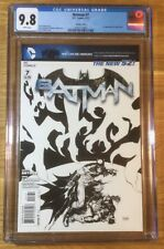 Batman 7, 1:200 sketch cover New 52, CGC 9.8, graded NM/MT