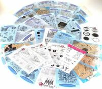 Personal Impressions HAPPY BIRTHDAY CLEAR STAMPS ***HUGE DISCOUNT***