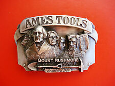 VTG 1987 Siskiyou Ames Tools Mount Rushmore Completed 1941 Belt Buckle