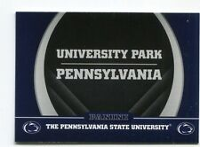 UNIVERSITY PARK Happy Valley 2016 Panini Collegiate Collection #2 PENN STATE