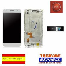 PANTALLA COMPLETA LCD DISPLAY + MARCO HUAWEI ASCEND G7 COLOR BLANCO