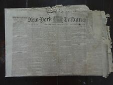 HISTORIC February 3, 1865 New York Tribune Civil War Newspaper