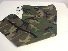 US ARMY ISSUE ECWCS WOODLAND BDU GORETEX TROUSERS EXTRA LARGE LONG NWT NOS