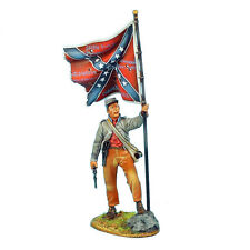 First Legion: ACW043 Confederate Standard Bearer - 13th Alabama Infantry