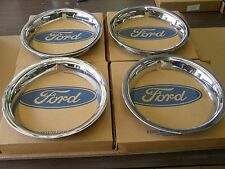 NOS OEM Ford 1967 Mustang Styled Steel Wheel Trim Rings 1969 1970 Cougar Comet