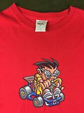 True Vintage 90s Authentic Mossimo Limited Edition Graphic Go-Kart Racer T-Shirt