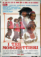 manifesto 2F film THE THREE MUSKETEERS Oliver Reed Raquel Welch 1973