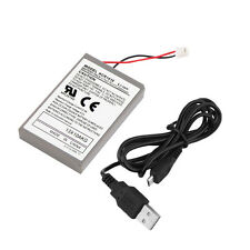 2000mAh Rechargeable Battery Pack for Sony Playstation PS4 Controller Cable BY
