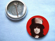 T.Rex  25mm  Badge Marc Bolan  The Slider Glam Rock David Bowie