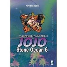 LE BIZZARRE AVVENTURE DI JOJO - STONE OCEAN 6 DI 11 - STAR COMICS NUOVO