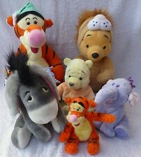 Job Lot Bundle of 6 Disney Winnie The Pooh Soft Plush Toys Tigger Eeyore Store