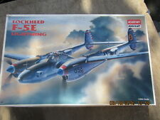 academy mincraft lockheed f-5e lightning model kit 1/48 scale