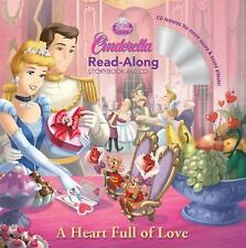 Cinderella: A Heart Full of Love Read-Along Storybook and CD by Disney Press...