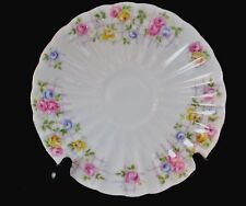 Shelley LUDLOW Rose Trellis Saucer Gold Trim13798   INVENTORY SALE ENDS APRIL 15