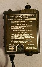 AN/URC-11 RT-285A UHF 243.0 MHz Military Pilot Survival Radio Vietnam Era