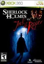 Sherlock Holmes vs. Jack the Ripper (GAME ONLY) (Microsoft Xbox 360, 2010)