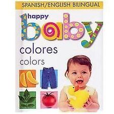 Happy Baby Colors Bilingual Soft to Touch Spanish Edition