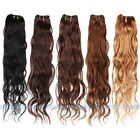"12""-28"" Remy Natural Body Wave 100% Real Human Hair Weaving Weft Extensions 50g"