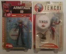 Tenchi Muyo Ryoko & Armitage III Matrix Naomi: Japan Anime McFarlane Figure Lot!