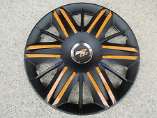 "4 Alu-Design Radkappen  ""Maximus schwarz/orange 16 Zoll SPRINTER VITO"