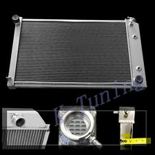 """3 ROWS/CORES ALUMINUM RADIATOR FOR 1975 76 77 78 79-80 Chevy K10 K20 26"""" CORE"""