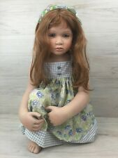 Master Piece Doll porcelain Girl Annaliesse by Pamela Erff Limited Edition COA