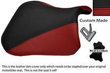 BURGUNDY & BLACK 04-05 CUSTOM FITS SUZUKI GSXR 600 750 K4 K5 FRONT SEAT COVER