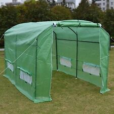 10'X7'X6' Larger Hot Green House Walk In Outdoor Plant Greenhouse