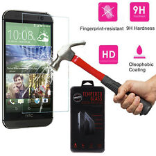 New Premium HD Real 0.26mm Tempered Glass Film Screen Protector For HTC One M8