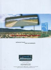 "Kenwood KDC-PSW9524 ""Still Havent Found"" 2003 Magazine Advert #153"
