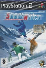 Ps2 PlayStation 2 **SNOW RIDER**  Nuovo Sigillato Italiano Pal