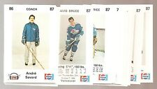 1986-87 Frederiton Express AHL Hockey Cards Set (26)  **A.Savard Montreal**