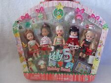 Barbie - Kelly Club Doll - Holiday Bunch - Set
